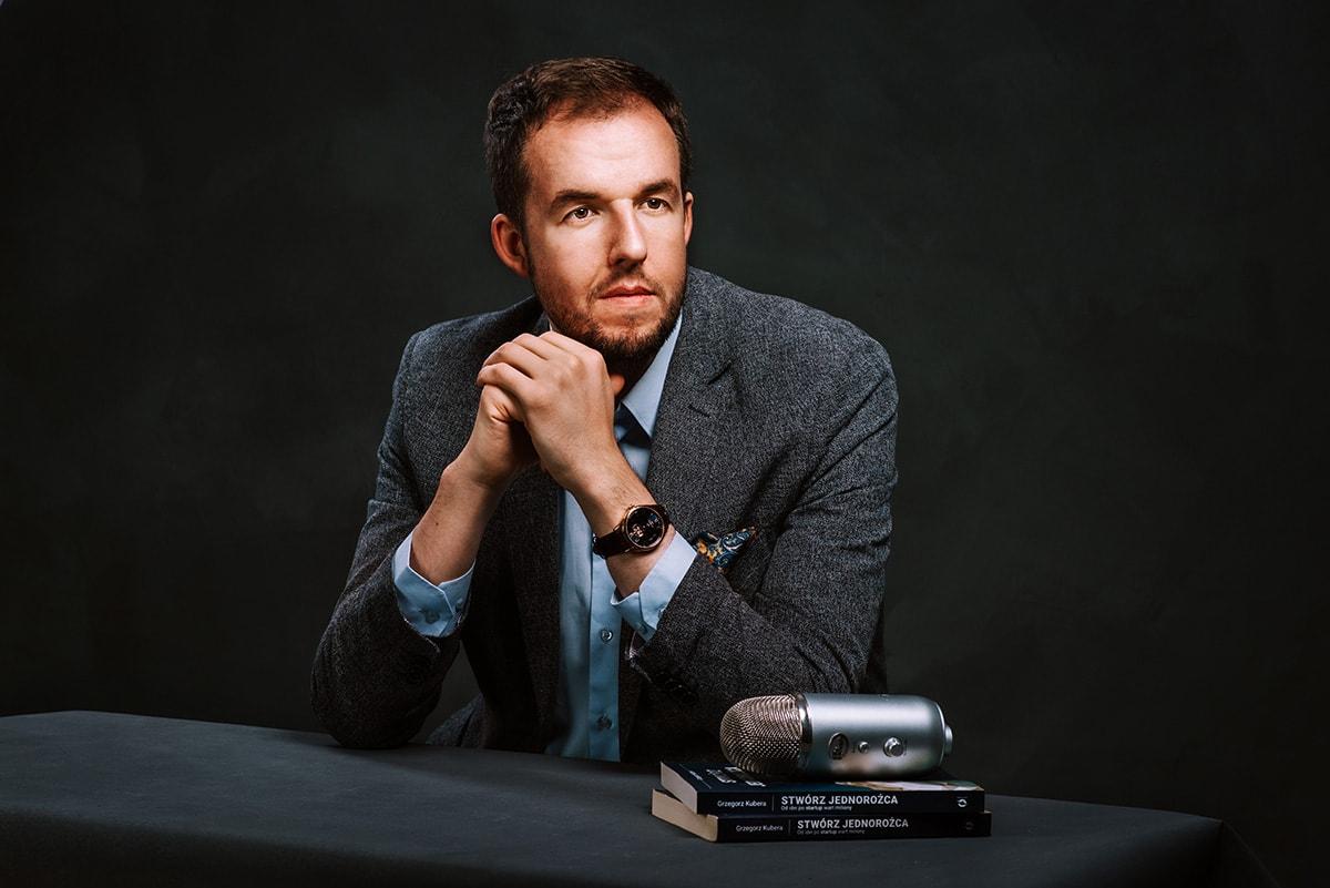 portret na okładkę książki