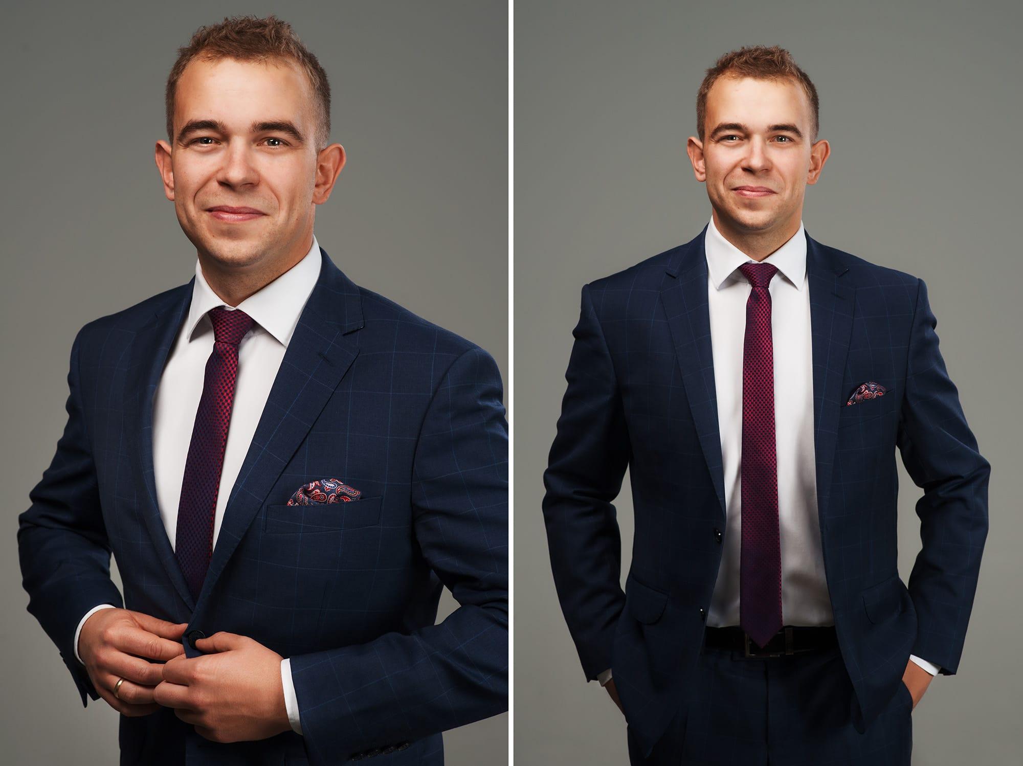 Sesja portretowa dla prawników