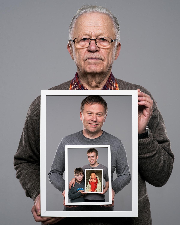 portret rodziny prezent