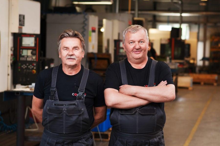 portrety pracowników