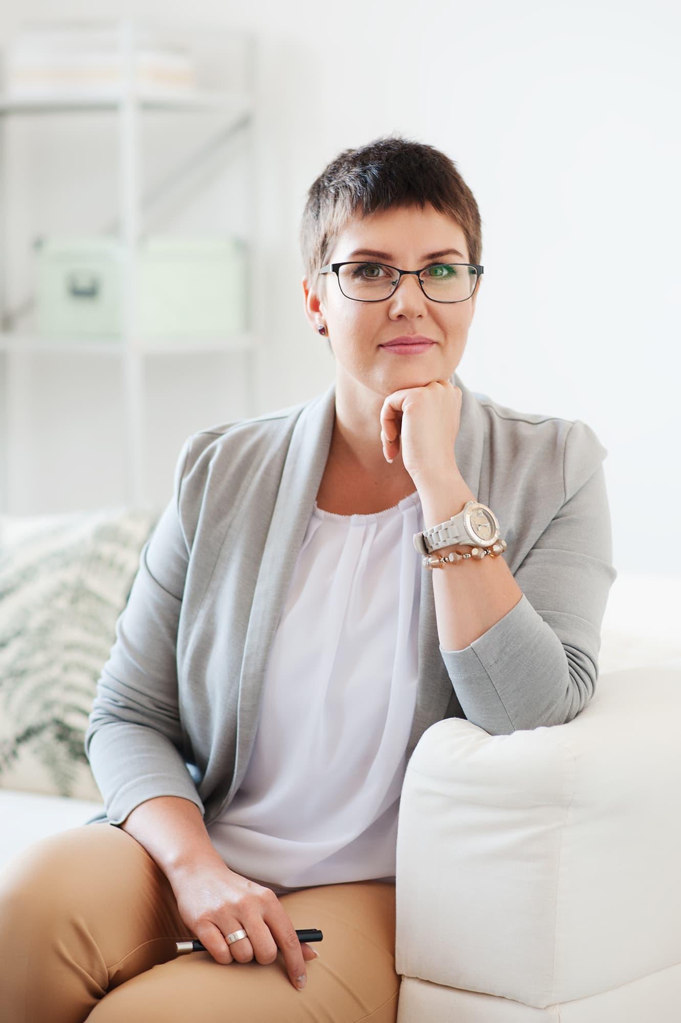 Zdjęcia na stronę internetową psychologa