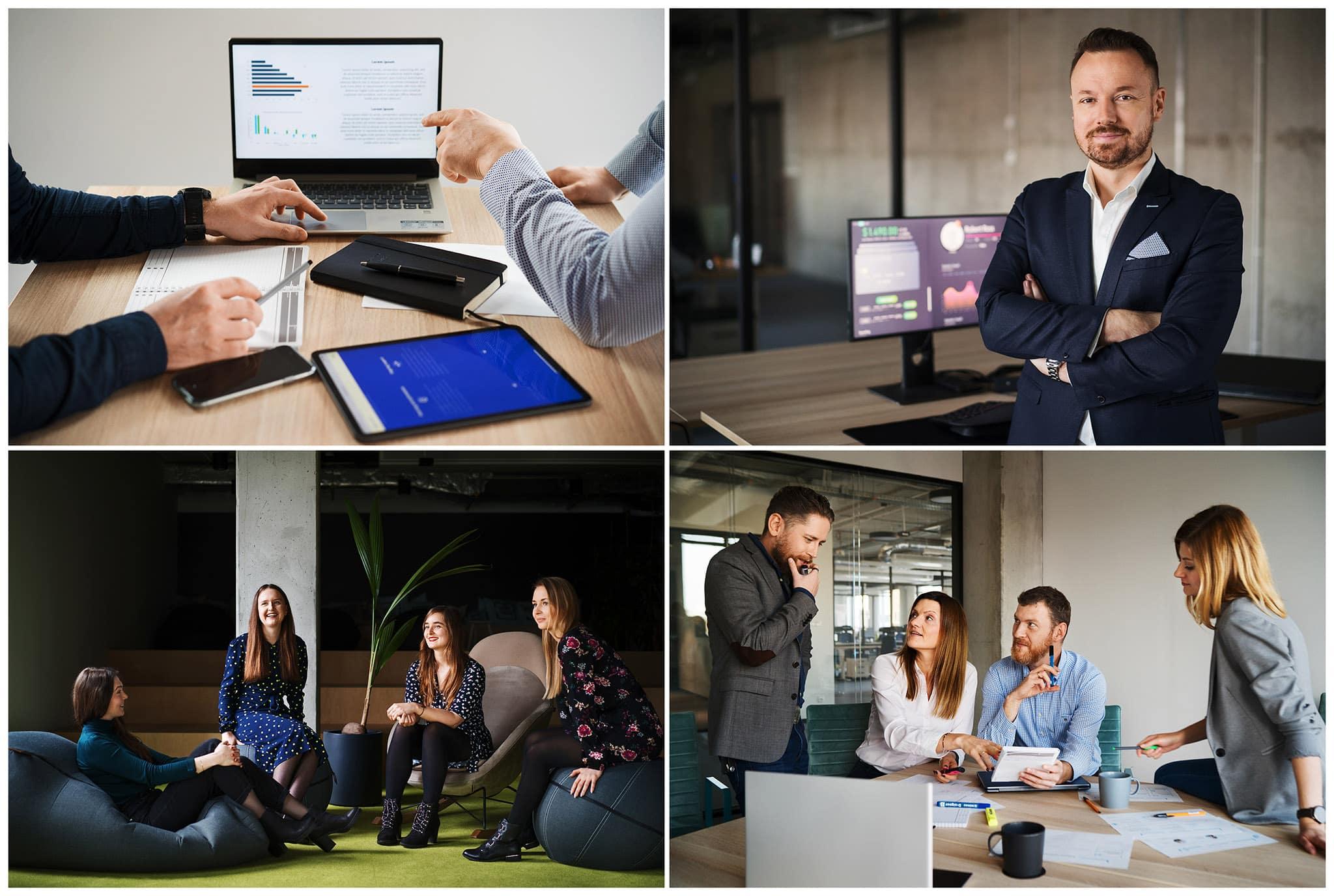 Sesje wizerunkowe dla firmy z branży IT