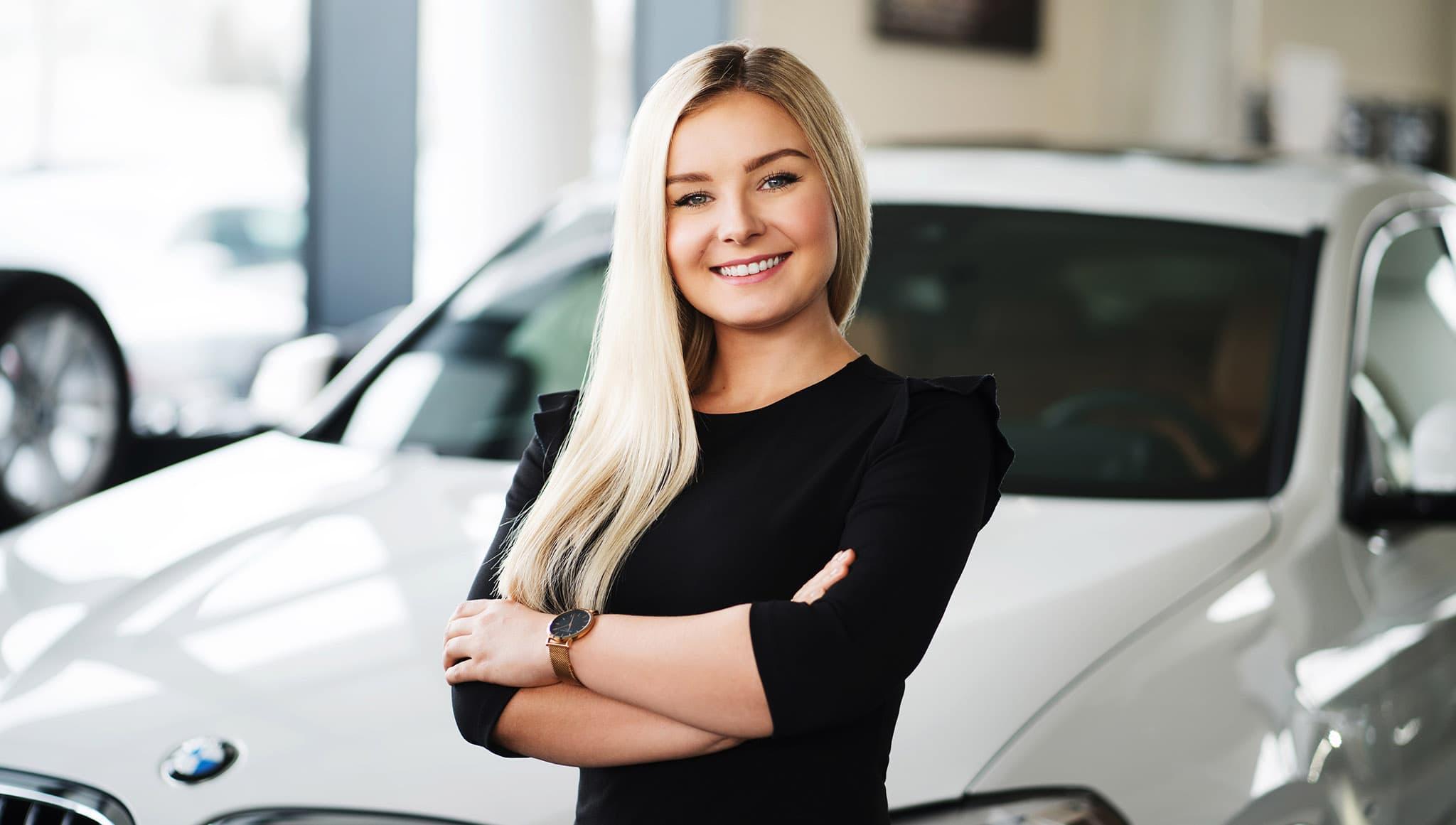 Portrety na stronę internetową dealera samochodowego