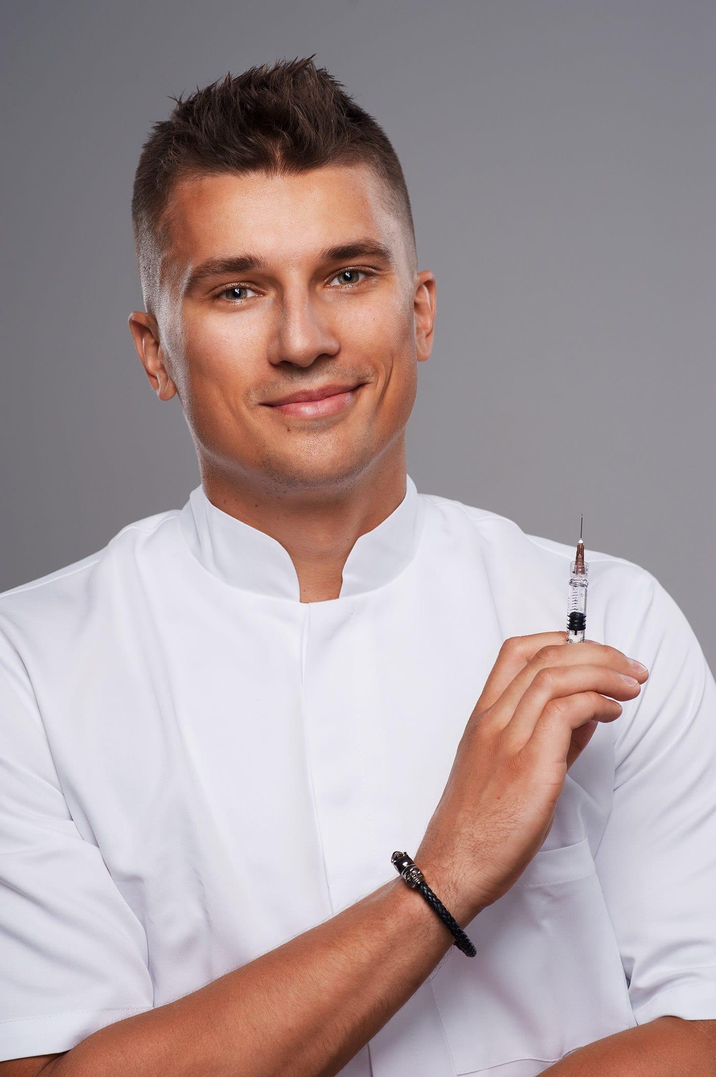 Zdjęcia na stronę www salonu kosmetycznego – szybka sesja Mateusza