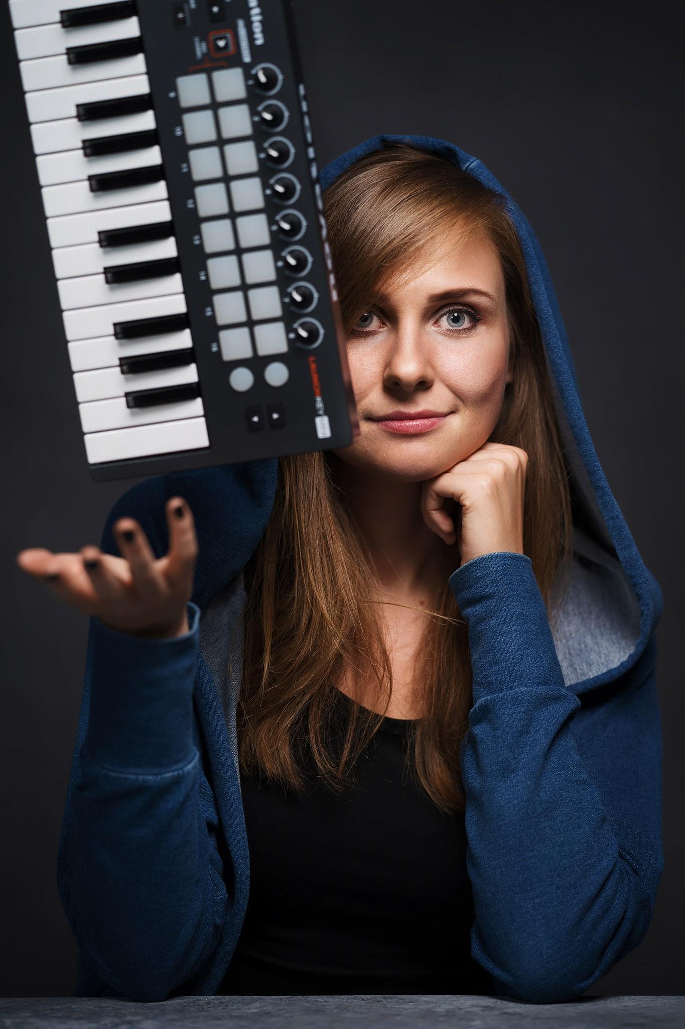 Portrety młodej kompozytorki