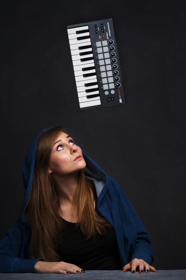 portret kompozytora/kompozytorki Magdy