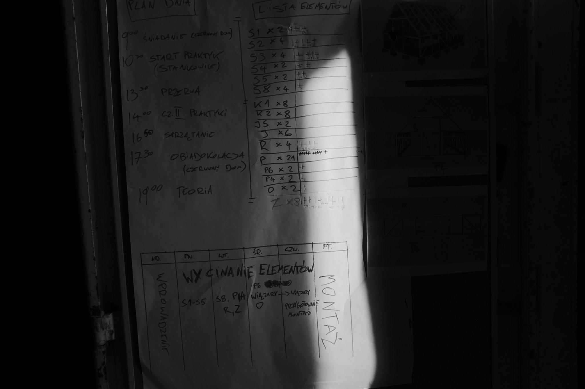 plan pracy