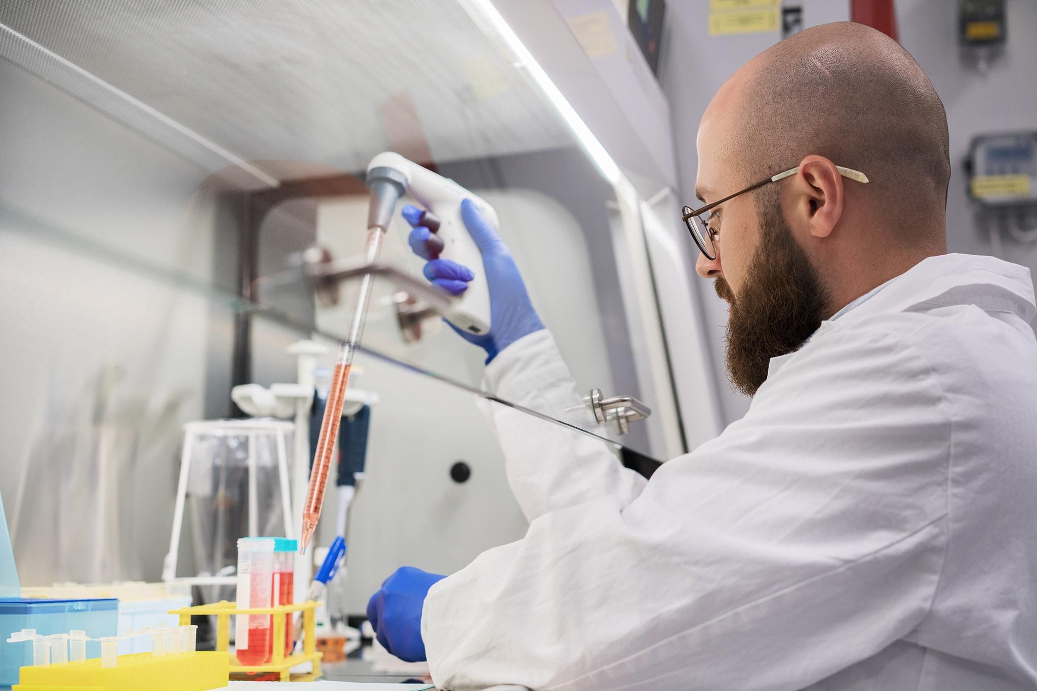 Zdjęcia z pracy laboratorium