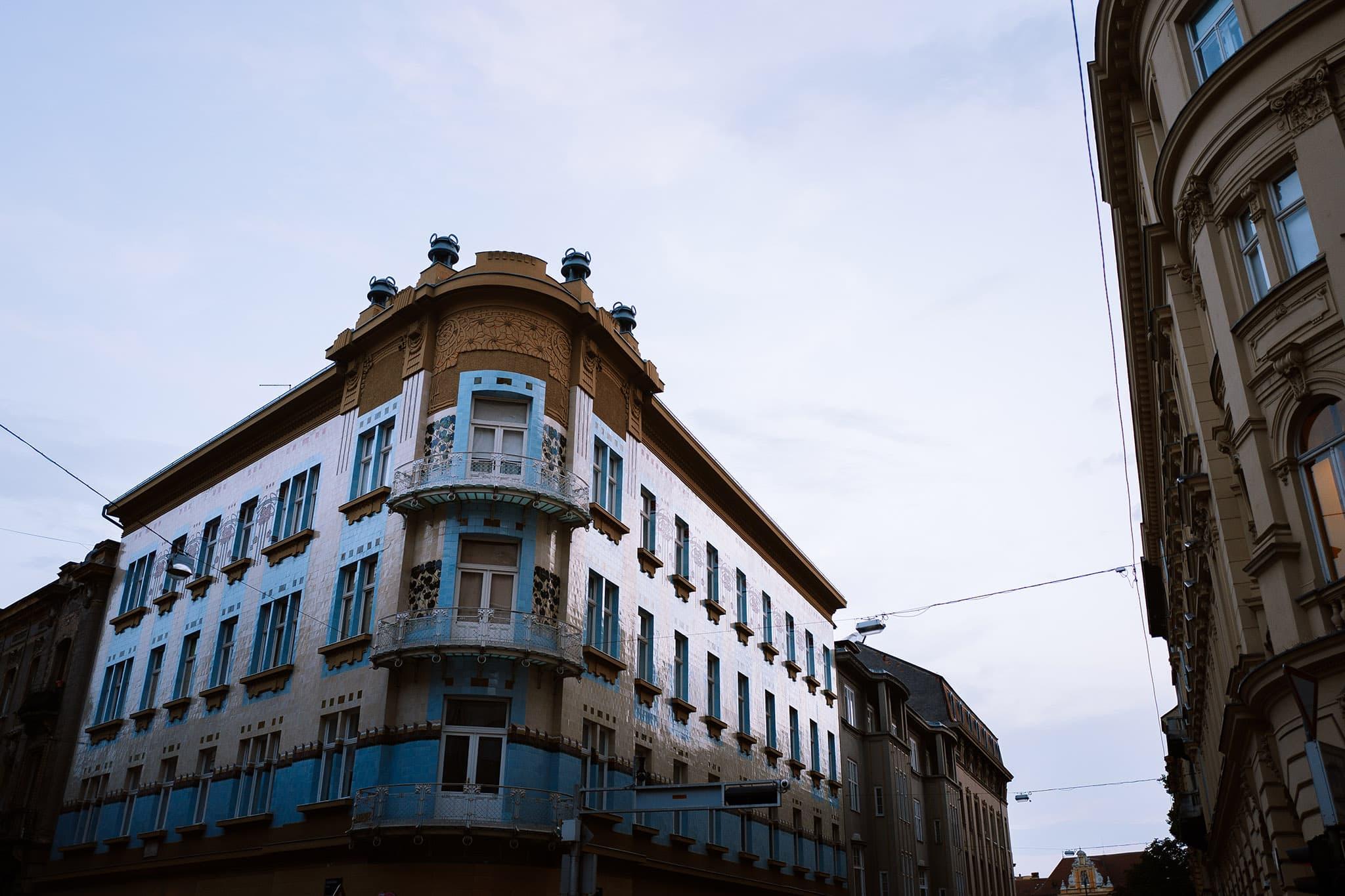 Zagrzeb i jego architektura