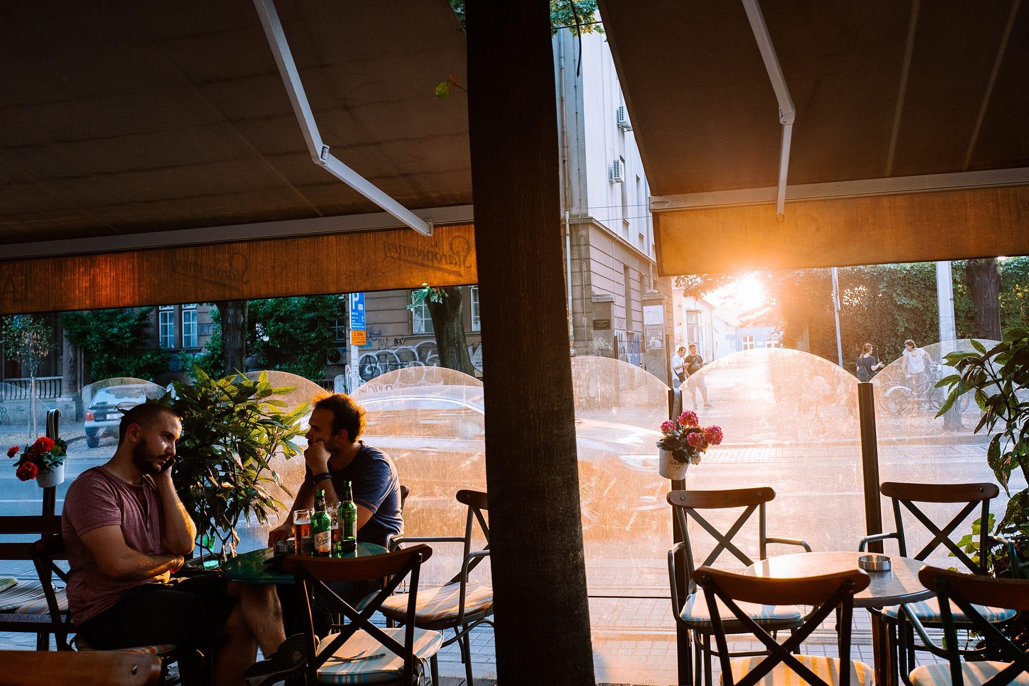 kawiarnie w Zagrzebiu