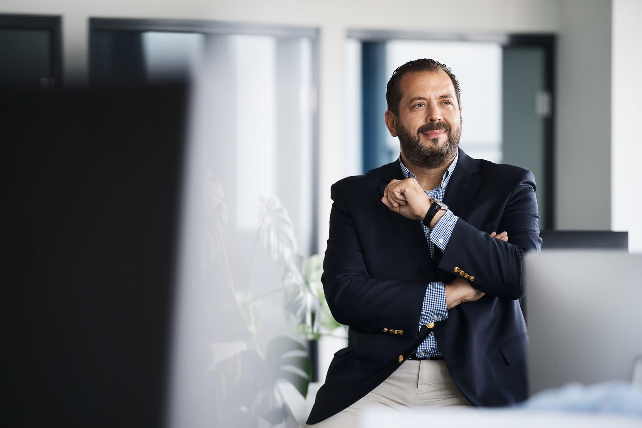 Zdjęcia portretowe w siedzibie firmy
